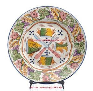 тарелка ручной росписи