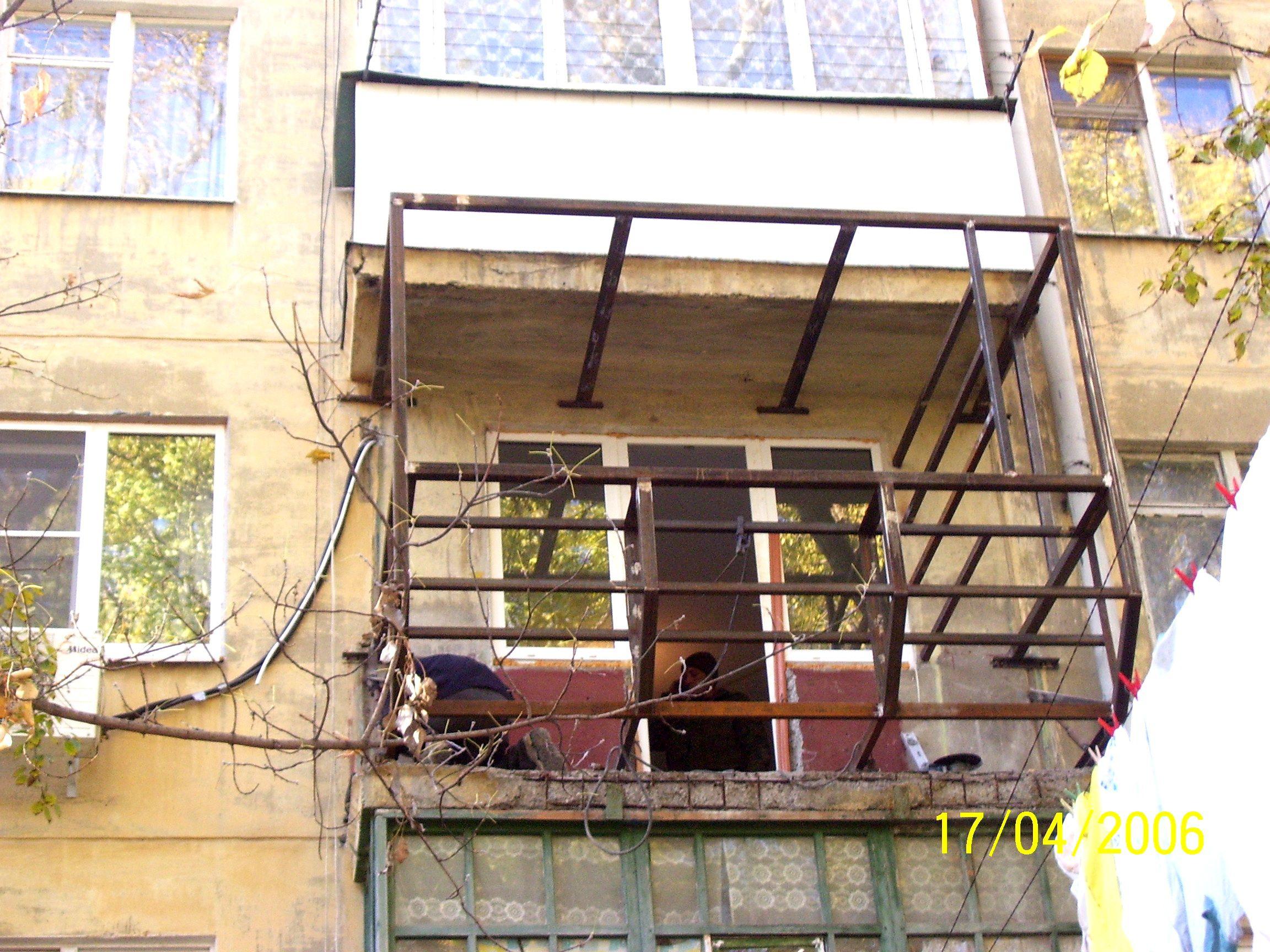 "Компания ""апс"" - услуги - увелиЧение площади балкона."