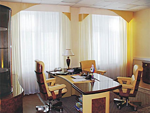 шторы в офисе фото