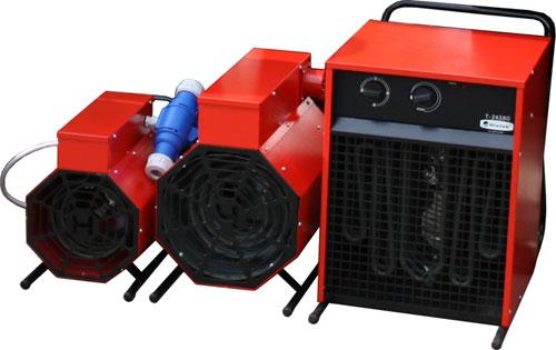 Бытовые электрические тепловентиляторы зарубежного производства на российском рынке