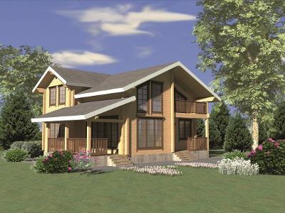Как оформить дом из клееного бруса: рекомендации специалистов