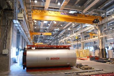 Решения Bosch в сфере тепло- и электроснабжения для мясной и молочной промышленности