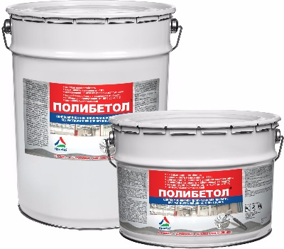 Полибетол — краска для бетонного пола,   которая не имеет аналогов!