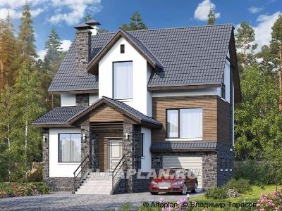 ВЫБОР ПРОЕКТА: Дома в трех уровнях от Альфаплан